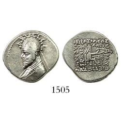 Kingdom of Parthia, AR drachm, Phraates III (70-57 BCE).