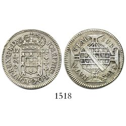 Brazil (struck in Lisbon), 160 reis, Jose I, 1771.