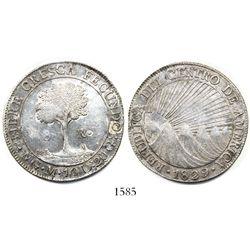 Guatemala, 8 reales, 1829M.