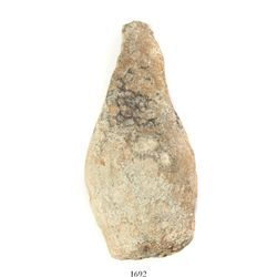 Small, pear-shaped lead weight, Spanish colonial (1500s-1600s).