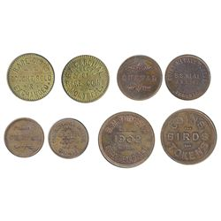 NUMISMATIC CARDS/MEDALS.