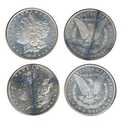 $1.00. Morgan Dollar.