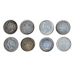 Lot of four (4) coins.