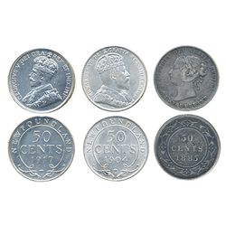Lot of three (3) coins.