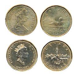 $1.00. 1988. 1992, Confederation.