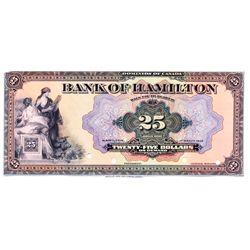 BANK OF HAMILTON.
