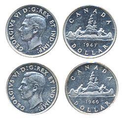 1946. 1947, Blunt 7.