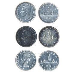 Lot of three (3) dollars.