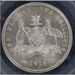 1919M Florin MS61
