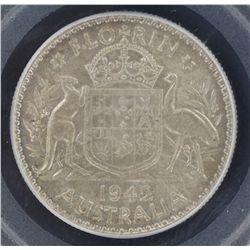 1942 Florin MS63