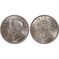 1951 Jubilee Florin MS64