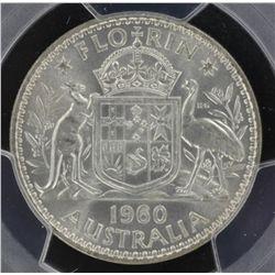 1960 Florin MS64