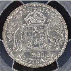 1960 Florin MS65