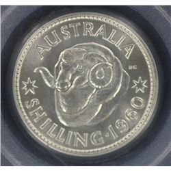 1960 Shilling MS66