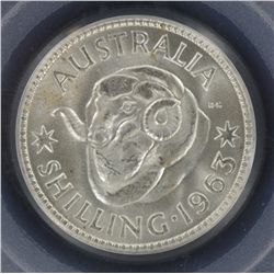 1963 Shilling MS65 x 2
