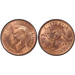 1949 Penny MS63RB