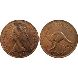 1953 Penny MS62RB