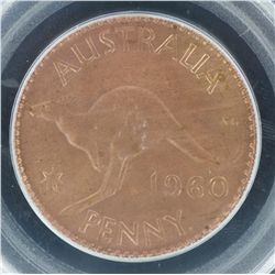 1960 Penny MS64RB