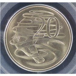 1968 20 Cent MS65