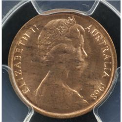1968 1 Cent MS64 Red x 4