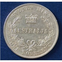 Australia 1870 Sovereign