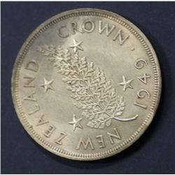 New Zealand 1949 Crowns
