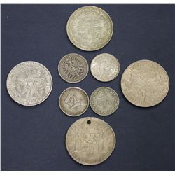 Better lot of World Coins