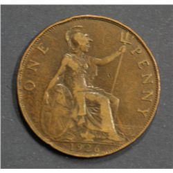 GB English Pennies