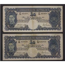 5 Pounds Armitage / McFarlane, Fresh Fine (5 Notes)