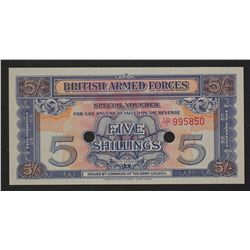 Br Armed Forces 1970 5 Shillings