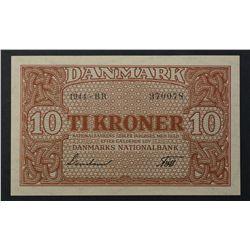 Denmark 1944 10 Kroner