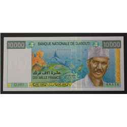 Djibouti 1999 10,000 Francs