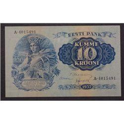 Estonia 1937 10 Krooni