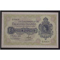 Falkland Island 1982 1 Pound