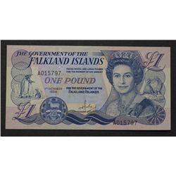 Falkland Island 1984 1 Pound