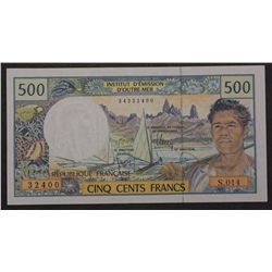 French Pacterr 1992 500 Francs