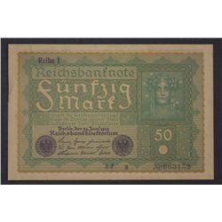Germany 1919 50 Mark