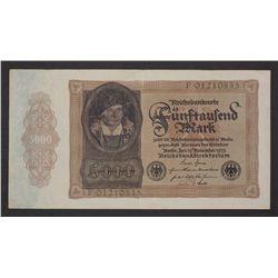 Germany 1922 5000 Mark