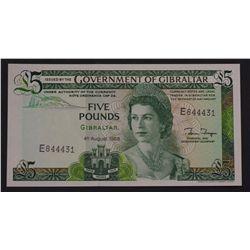 Gibraltar 1988 5 Pound