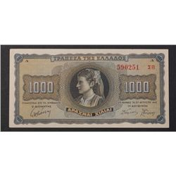 Greece 1942 1000 Drach
