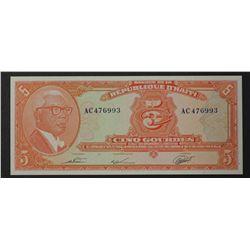 Haiti 1979 5 Gourdes