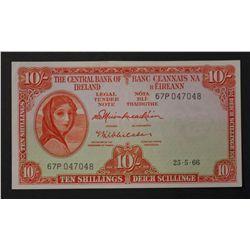 Ireland 1966 10 Shillings