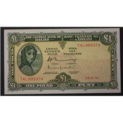 Ireland 1976 1 Pound