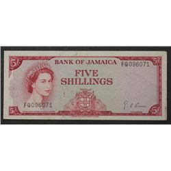 Jamaica 1964 5 Shillings