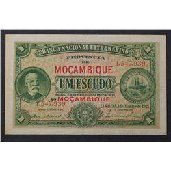 Mozambique 1921 1 Escudo
