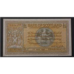 Scotland 1941 1 Pound