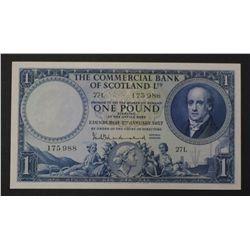 Scotland 1957 1 Pound