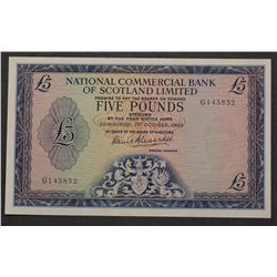 Scotland 1964 5 Pound