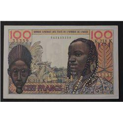Senegal (K) 1965 100 Francs