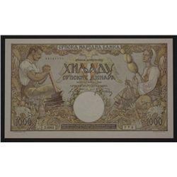 Serbia 1942 1000 Dinara